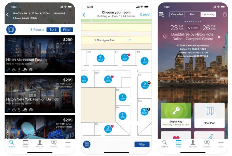 hilton-honors-app